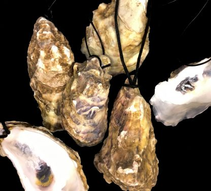 Necklaces oyster shells